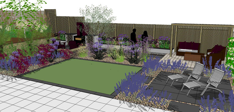 Fire Garden Design Whitstable