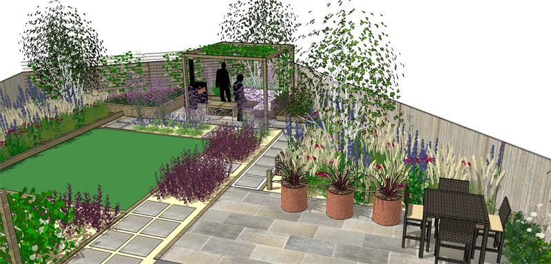 Industrial Garden Design Whitstable