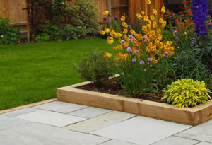 Stepped Garden Design Whitstable